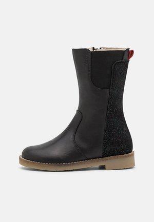 NY KRAFT - Boots - noir fantaisie