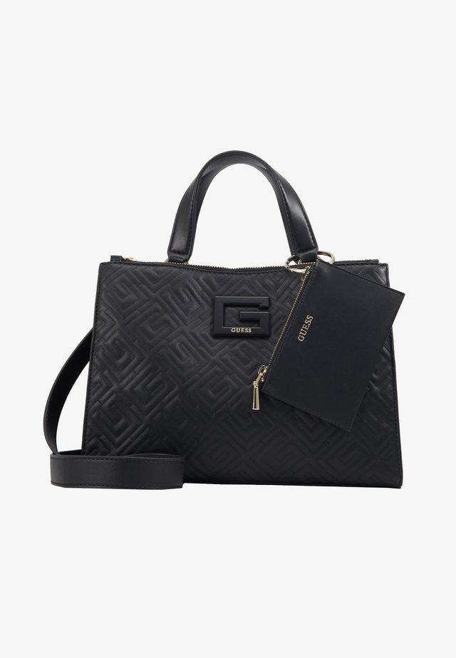 JANAY STATUS SATCHEL - Shopping bag - black