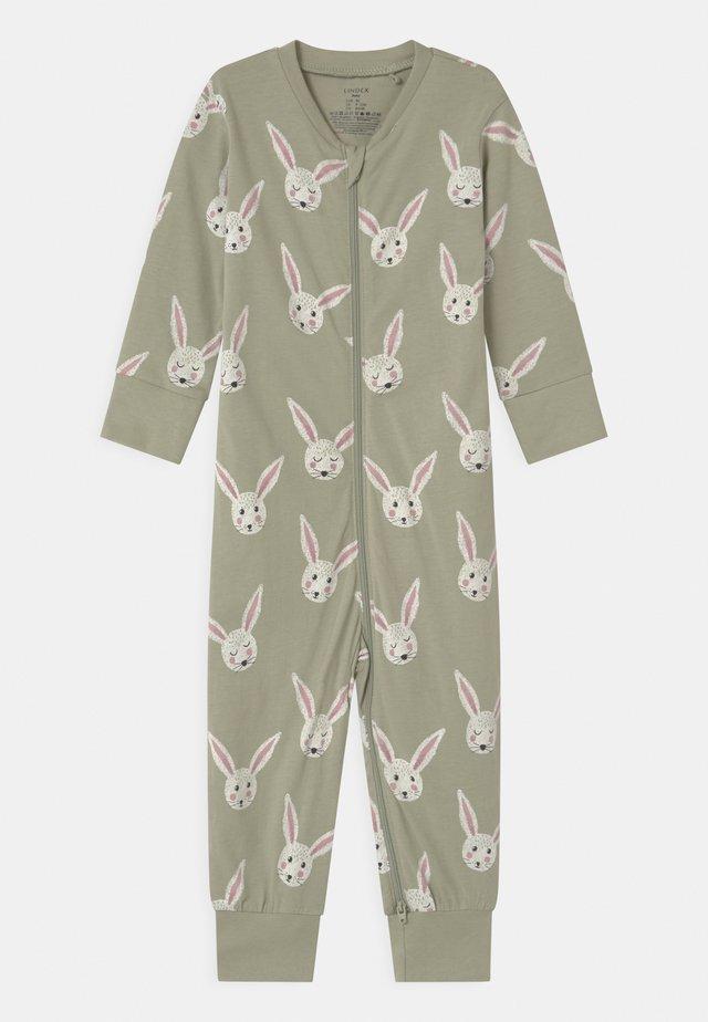 RABBIT FACES UNISEX - Pyjama - dusty green