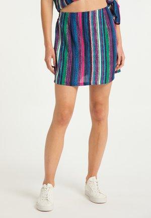 Áčková sukně - multicolor gestreift