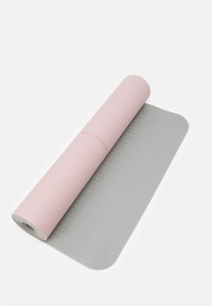 YOGA MAT POSITION 4MM - Fitness/yoga - lucky pink/grey