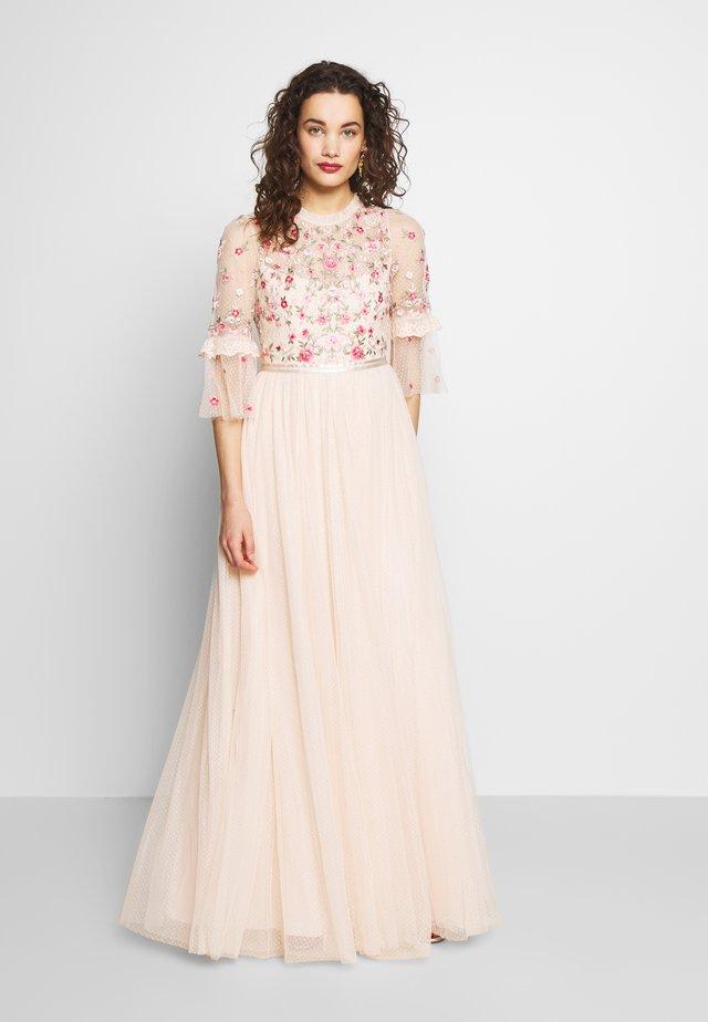 BUTTERFLY MEADOW BODICE MAXI DRESS - Společenské šaty - pink