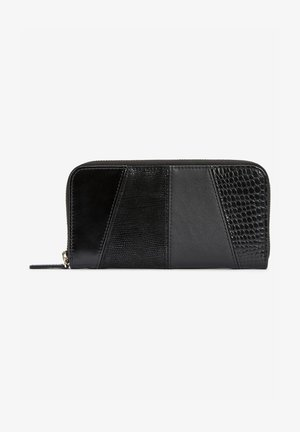 SPLICED TEXTURE LARGE - Wallet - black