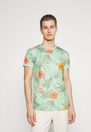 CADIZ BRILIANT - Print T-shirt - quite wave