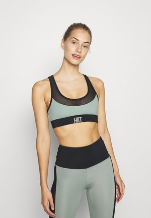 SCOOP BRA - Sports bra - taupe