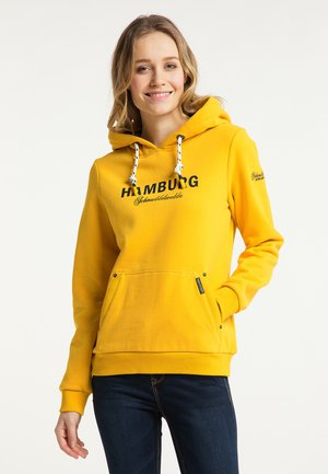 HAMBURG - Hoodie - senf