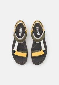 Camper - ORUGA UP - Platform sandals - yellow - 3