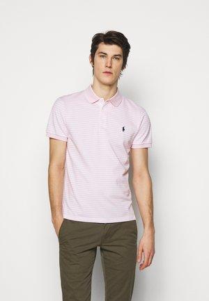 OXFORD - Polo shirt - garden pink/white
