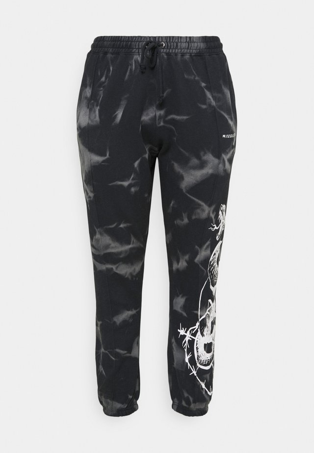 90S SNAKE - Trainingsbroek - black