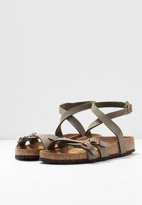 Birkenstock - BLANCA - Sandals - stone - 4