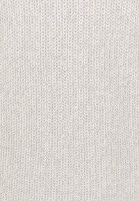 Noisy May Tall - NMSIESTA O NECK DRESS - Etui-jurk - oatmeal - 2