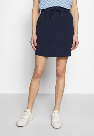 PUNTO SKIRT - Mini skirt - real navy blue