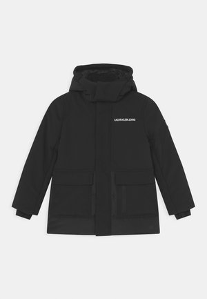 LOGO - Winter coat - ck black