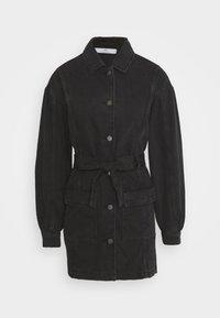 JDY - JDYSANSA BELTED JACKET  - Short coat - black - 3