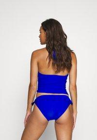 Pour Moi - SPLASH FRILL BRIEF - Bikini bottoms - blue - 2