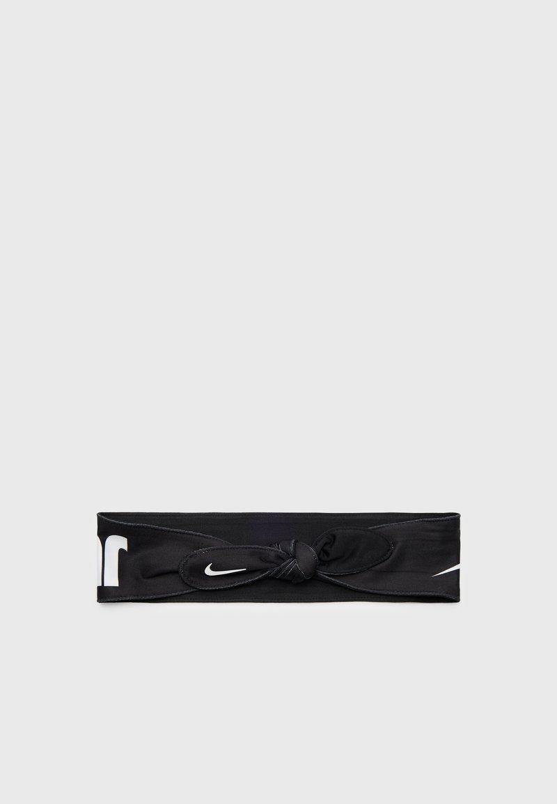 Nike Performance - HEAD TIE SKINNY UNISEX - Jiné doplňky - black/white