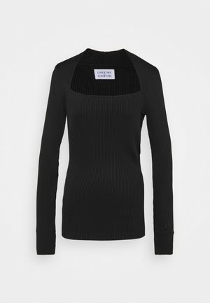 TONE - Long sleeved top - black