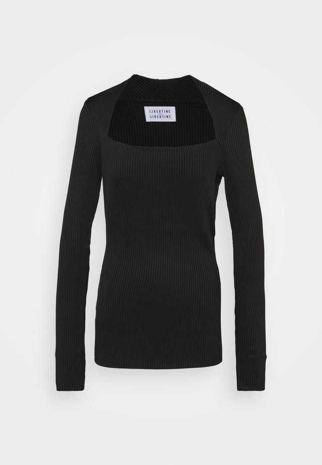 TONE - Langarmshirt - black