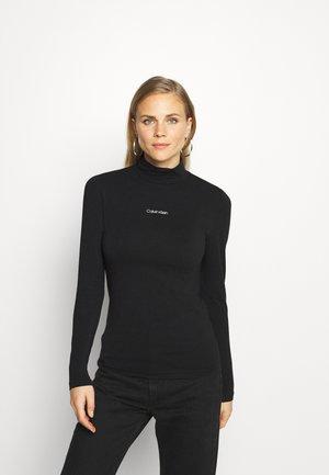 CALVIN TURTLENECK - Long sleeved top - black