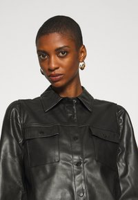 Freequent - Button-down blouse - black - 4