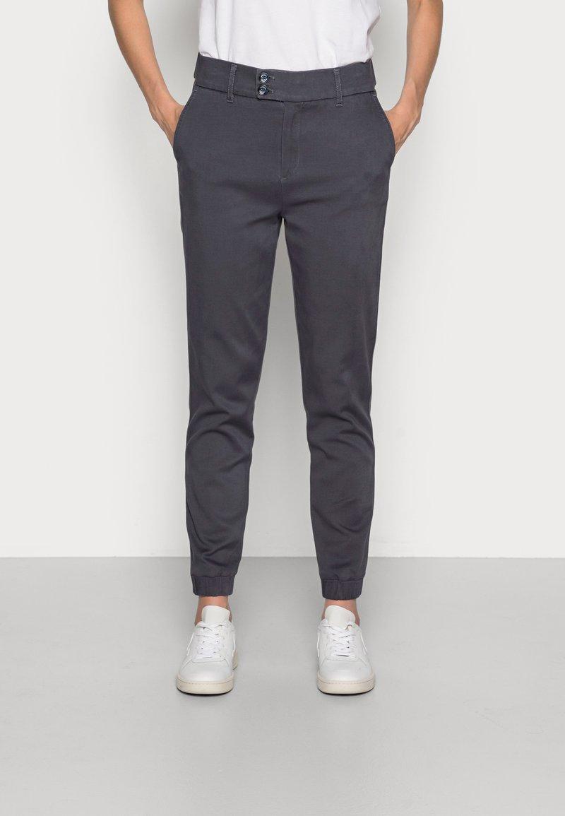 Mos Mosh - ADI FLOW PANT - Trousers - blue ombre