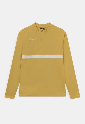 ACADEMY DRIL UNISEX - Camiseta de deporte - saturn gold/white