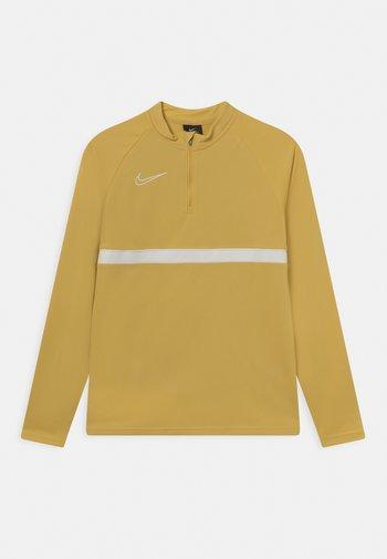 ACADEMY DRIL UNISEX - Sports shirt - saturn gold/white
