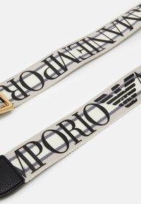 Emporio Armani - Torebka - nero/silver - 4