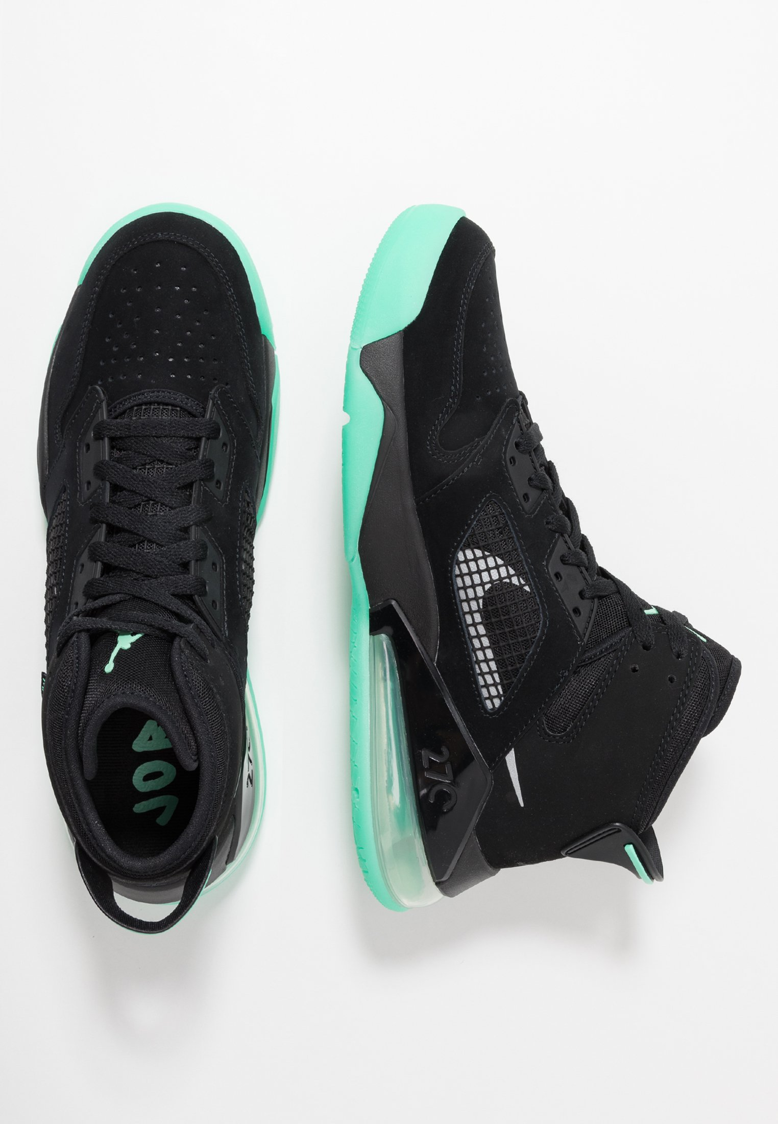 MARS 270 Höga sneakers blackgreen glowgreen glow