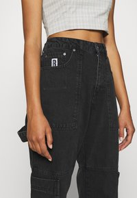 The Ragged Priest - COMBAT - Straight leg jeans - charcoal - 3