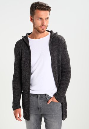 BUDDY - Strickjacke - anthracite