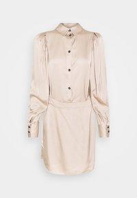DESIGNERS REMIX - GIULIA SHORT DRESS - Cocktail dress / Party dress - beige - 4
