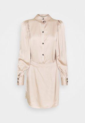 GIULIA SHORT DRESS - Cocktail dress / Party dress - beige