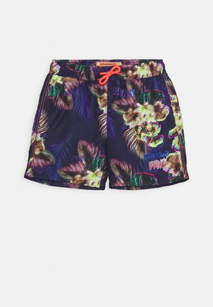 XELANO - Swimming shorts - multicolor/blue