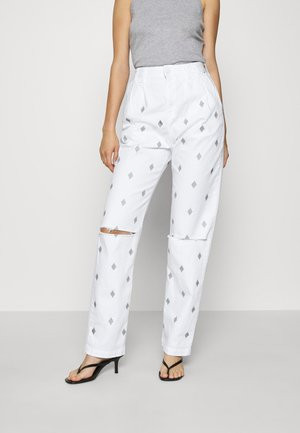 MONICK - Jeans relaxed fit - white