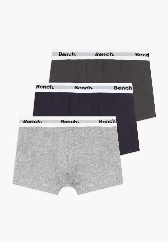 3 PACK - Panties - grey/black/dark blue