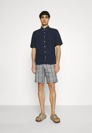 BUTTON DOWN SHORT SLEEVE - Camisa - total eclipse