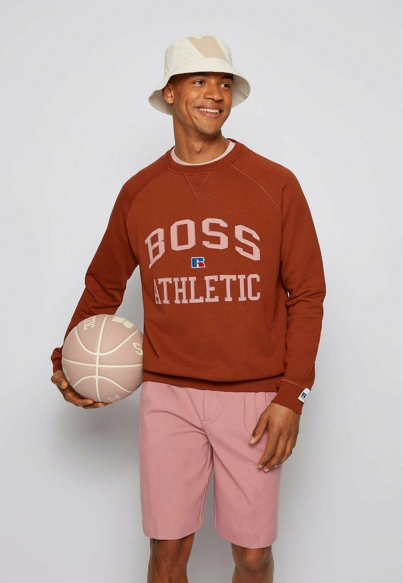 BOSS - STEDMAN_RA - Sweater -  brown