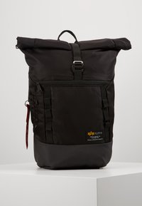 Alpha Industries - CREW BACKPACK - Rucksack - black - 0