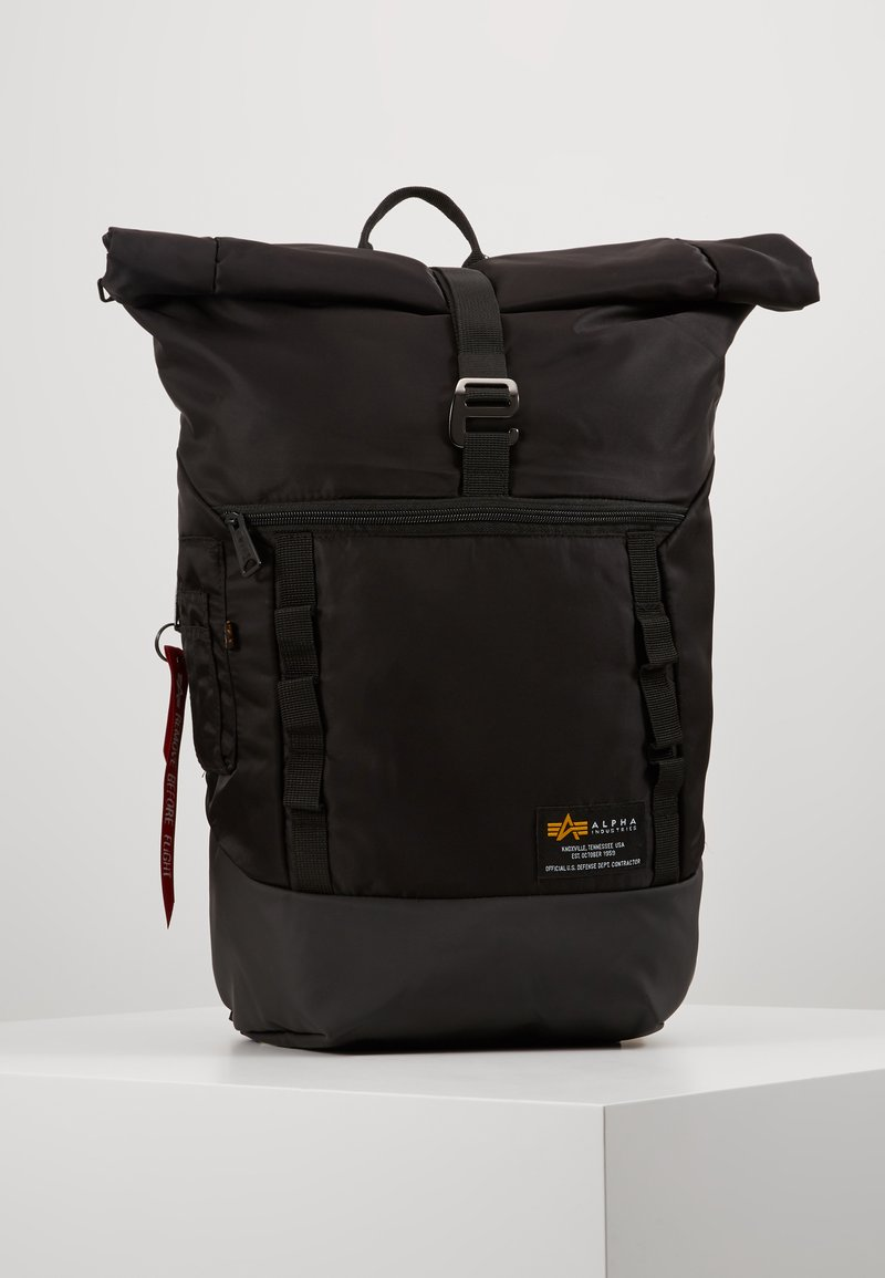 Alpha Industries - CREW BACKPACK - Sac à dos - black