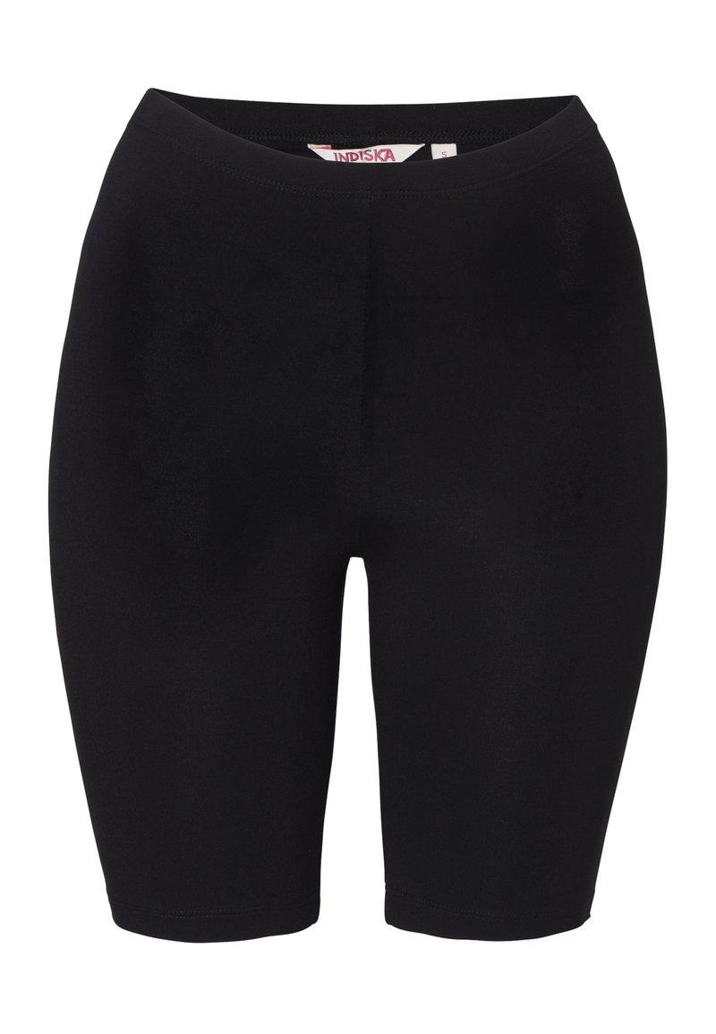 Indiska - INDISKA CYCLING SHORTS CYCLING SHORTS - Shorts - black
