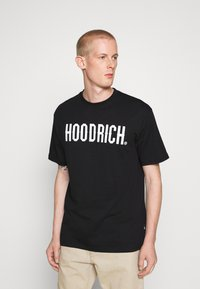 Hoodrich - CORE - Print T-shirt - black - 0