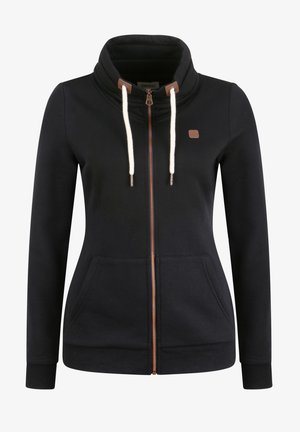 VICKY - Zip-up hoodie - black
