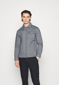 KnowledgeCotton Apparel - PINE QUILTED - Light jacket - total eclipse - 0
