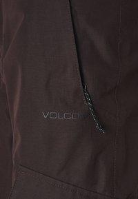 Volcom - ASTON GORE TEX PANT - Schneehose - black red - 5