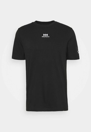 TWIN LOGO  - Basic T-shirt - black