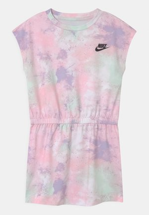 SKYDYE  - Jersey dress - arctic punch