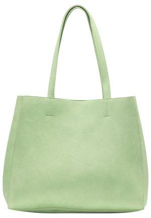 SHOPPER - Tote bag - minze