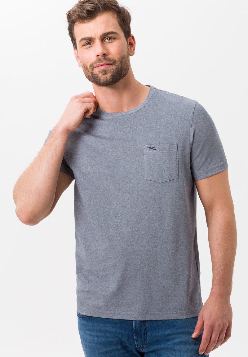 BRAX - STYLE TODD - T-shirt basique - ocean