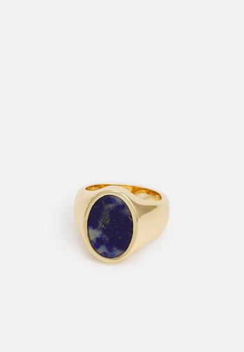 OVAL COCKTAIL SEMI STONE - Ring - gold-coloured